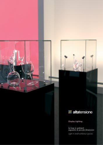 Altatensione Display Lighting