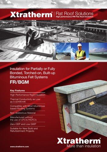 Thin-R Flat Roof  [FR/BGM]