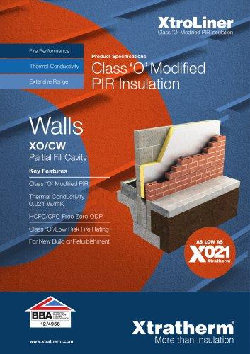 XtroLiner Partial Fill Cavity Wall  [XO/CW]