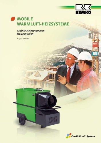 Mobile Warmluft-Heizsysteme 2010-11