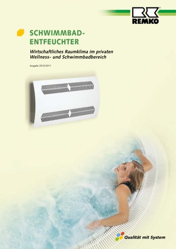 Schwimmbad-Entfeuchter 2010-11