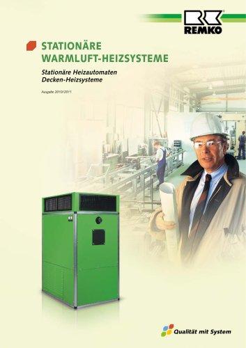 Stationäre Warmluft-Heizsysteme 2010-11