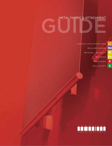 Cambridge Metal Fabric & Attachment Guide
