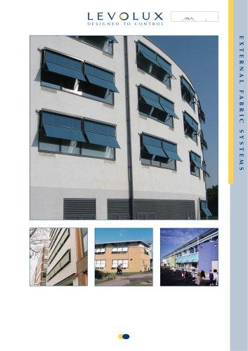 Levolux External Fabric Blinds Brochure