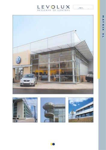 Levolux Matrix Walk-On Solar Shading Brochure