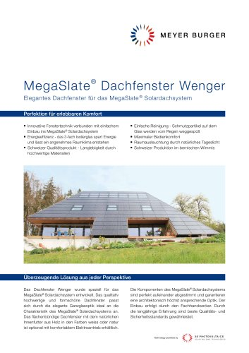 IN-ROOF/System components:WENGER SKYLIGHTS