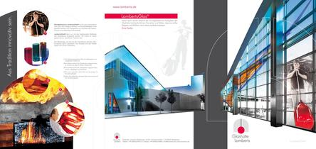 """Brochure """"architecture"""""""