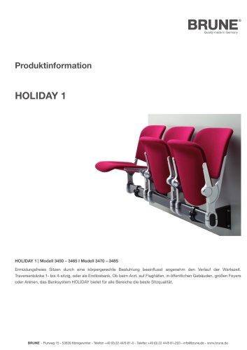 HOLIDAY 1 Modell 3450-3485