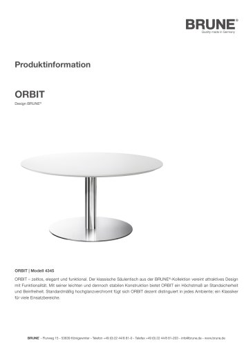 ORBIT Modell 4345