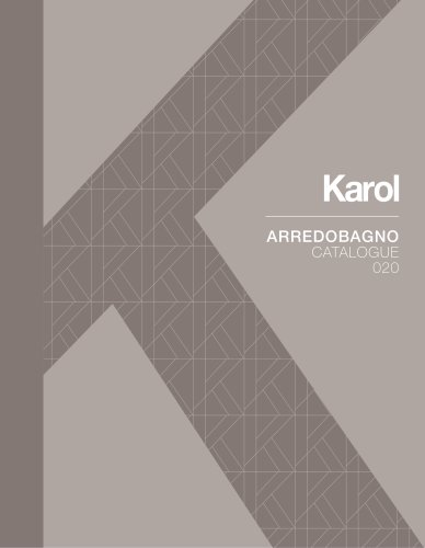 ARREDOBAGNO CATALOGUE 020