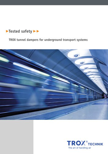 Tunnel dampers