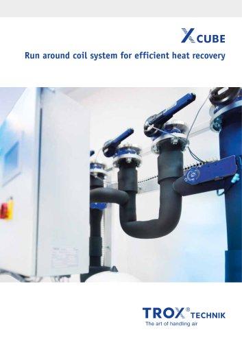 X-CUBE RUN AROUND COIL SYSTEM