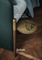 Bolzan letti   news Milan Design Week 2019