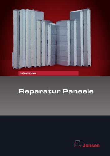 Übersicht Reparaturpaneele