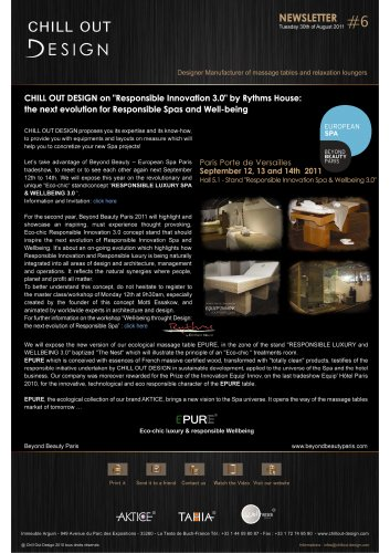 """CHILL OUT DESIGN on 'Responsible Innovation 3.0"""" by Rythms House"""