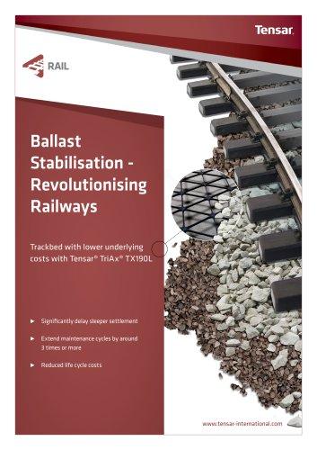 Tensar Ballast Stabilisation