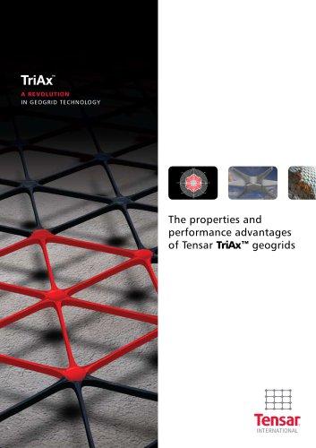 Tensar TriAx Geogrid Brochure