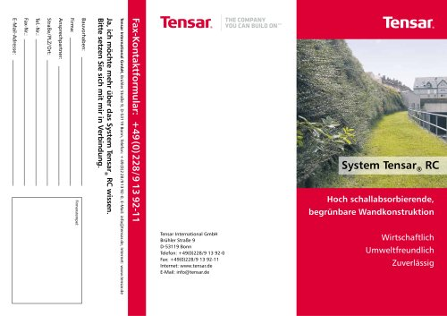 TensarTech RC