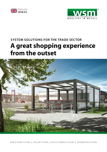 MOBILE ROOM SYSTEMS / SHELTER SYSTEMS / BICYCLE PARKING SYSTEMS / INFORMATION SYSTEMS