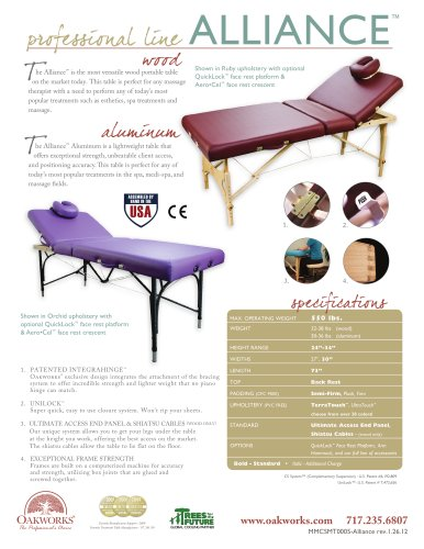 Alliance Wood Massage