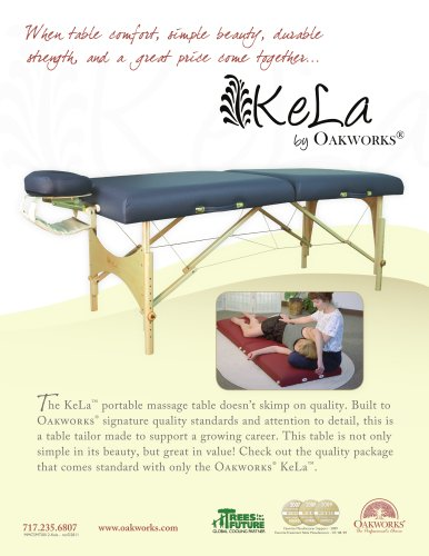KeLa 30 inch Massage Table Package