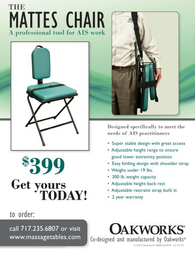 Mattes Chair Flyer