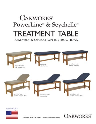 Powerline Treatment Table