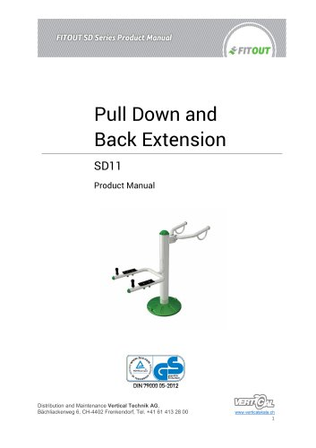 Pull Down and Back Extension