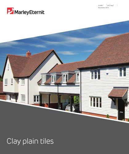 Clay Plain Tiles