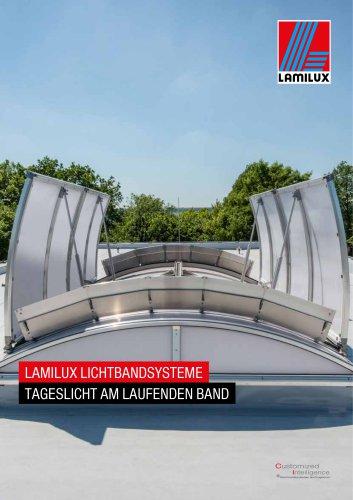 LAMILUX LICHTBANDSYSTEME TAGESLICHT