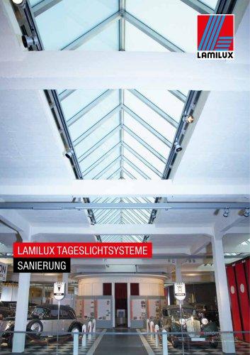 LAMILUX TAGESLICHTSYSTEME SANIERUNG