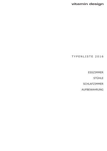 Typenliste 2016