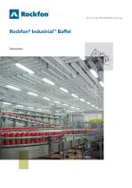 Rockfon® Industrial™ Baffel