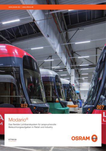 Modario Das flexible Lichtbandsystem für anspruchsvolle Beleuchtungsaufgaben in Retail und Industry