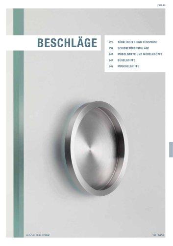 Beschläge Edelstahl-Design