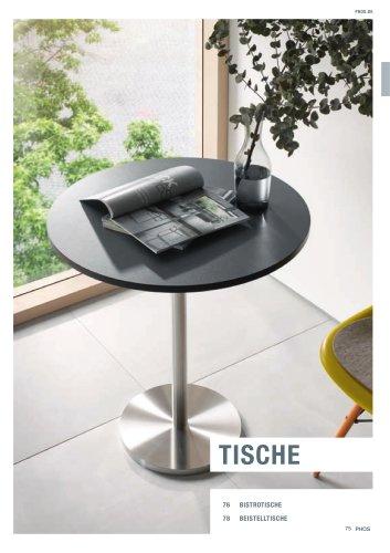 Tische Edelstahl-Design
