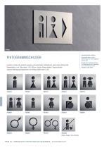 Türschilder + Hinweisschilder Edelstahl-Design - 6
