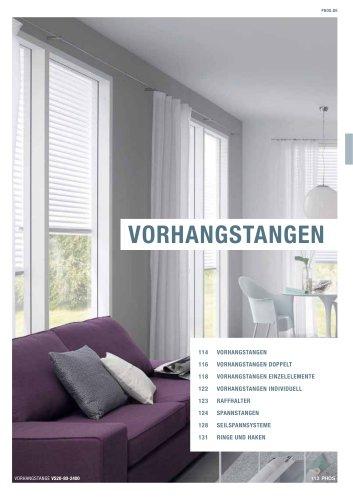 Vorhangstangen Edelstahl-Design