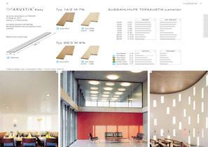 TOPAKUSTIK - Optimierte Raumakustik aus Holz - 10