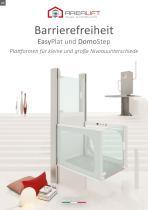 Barrierefreiheit - Plattformen für kleine und große Niveauunterschiede