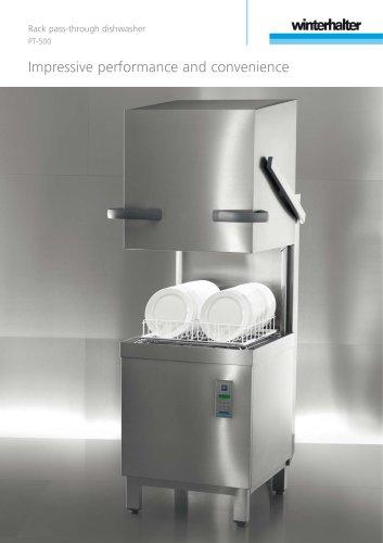 Rack pass-through dishwasher PT-500