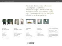 Casala Room-in-room solutions - 2