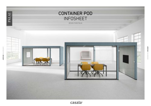 Container Pod infosheet