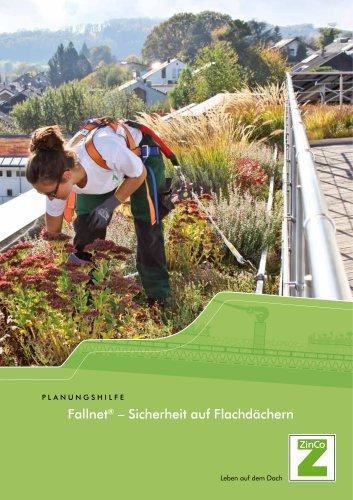 Fallnet® - Sicherheit auf Flachdächern