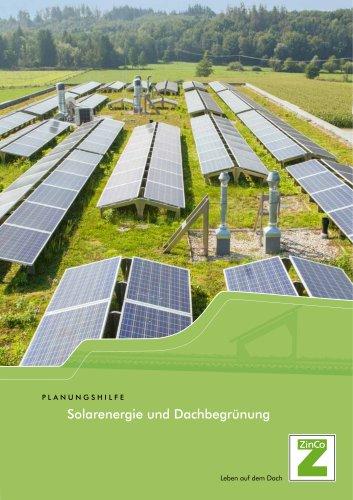 Solarenergie und Dachbegrünung