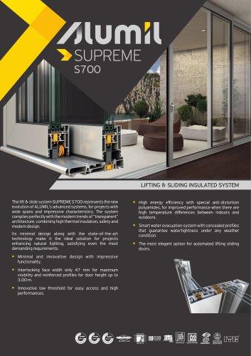 Technical Brochure SUPREME S700