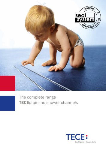 TECEdrainline shower channels