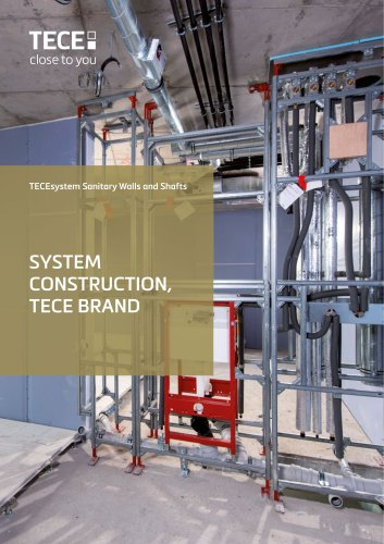 TECEsystem Sanitary Walls and Shafts