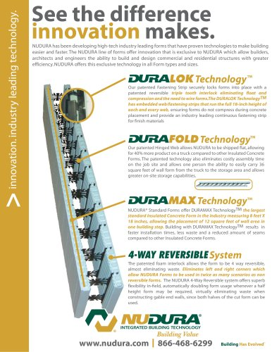 NUDURA | Technology Brochure