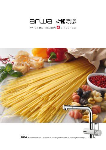 Brochure kitchen taps
